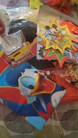 Mickey's Clubhouse birthday decorations Thumbnail