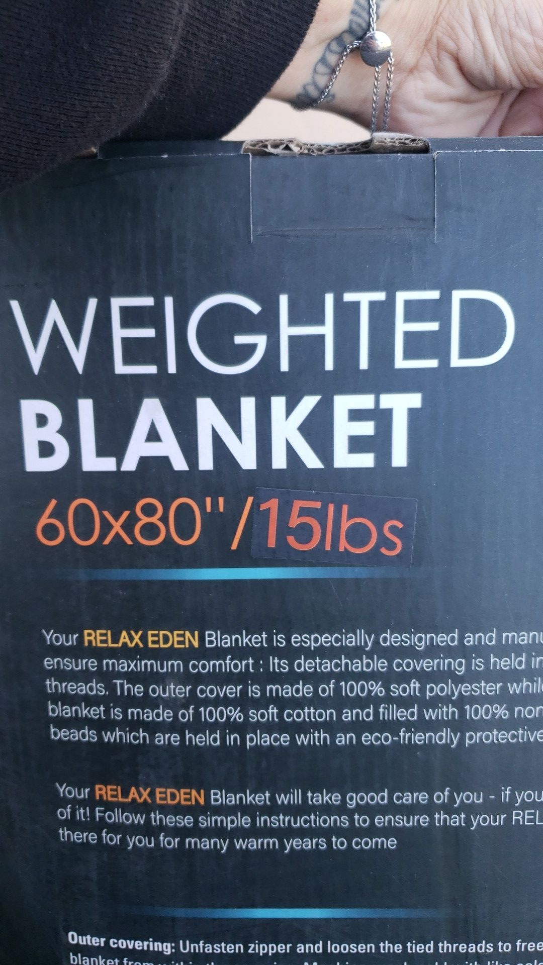 New weighted blanket