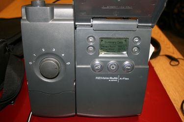 CPAP A-Flex Auto machine Remstar SeriesM Thumbnail