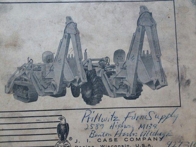 Case Backhoe Model31 Manual