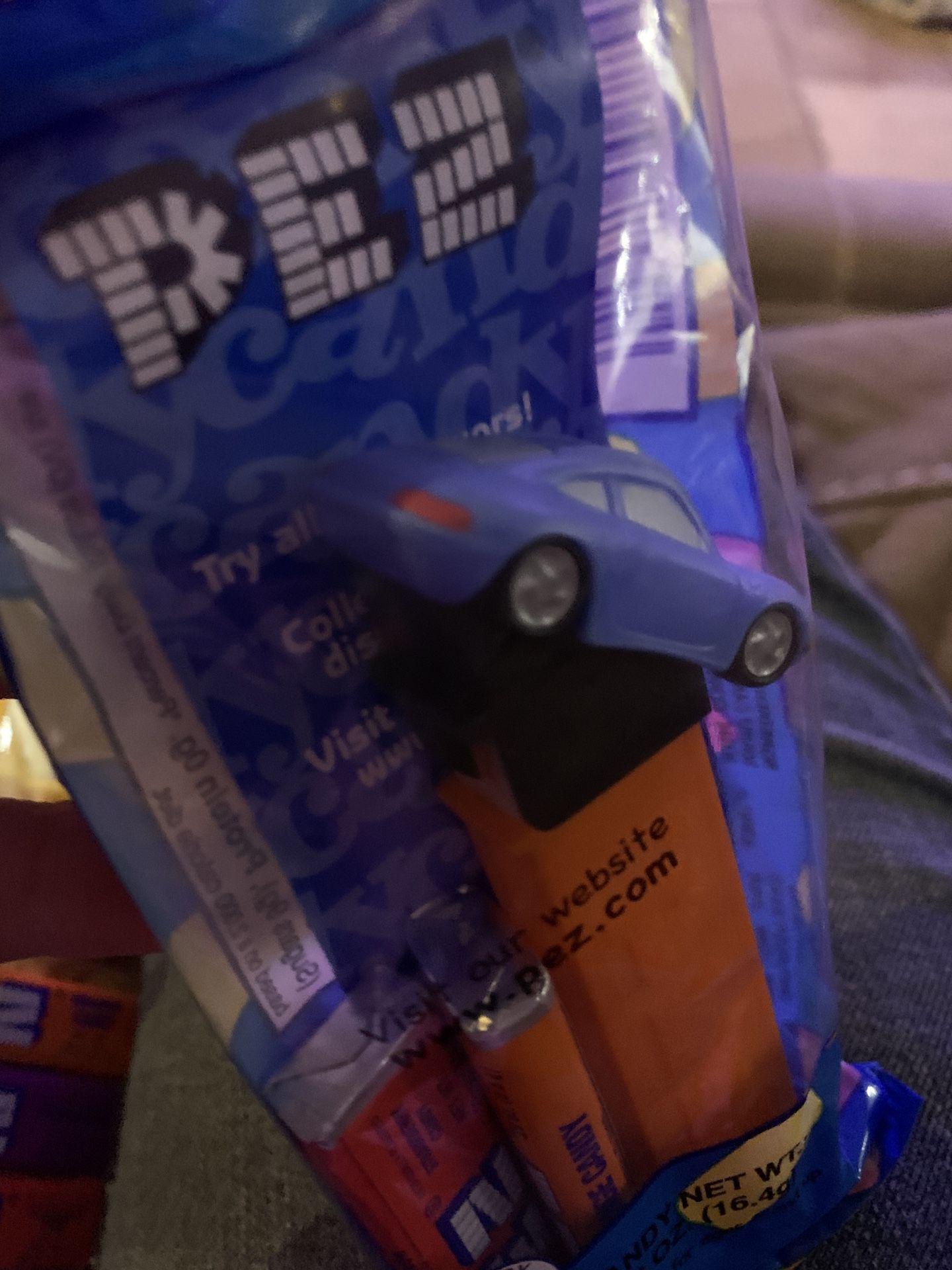PEZ Candy Dispenser Disney Pixar Cars Movie Sally Porsche New In Package