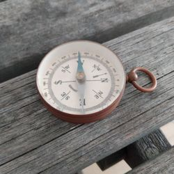 Antique German Compass Pre WW2 Very Beautiful & True Acuracy Thumbnail