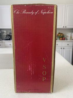 1970s Cognac Courvoisier VSOP unopened Collectors Thumbnail