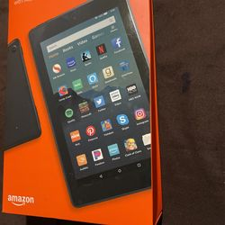 """Fire 7 tablet, 7"""" display, 16 GB, latest model (2019 release), Black Thumbnail"""