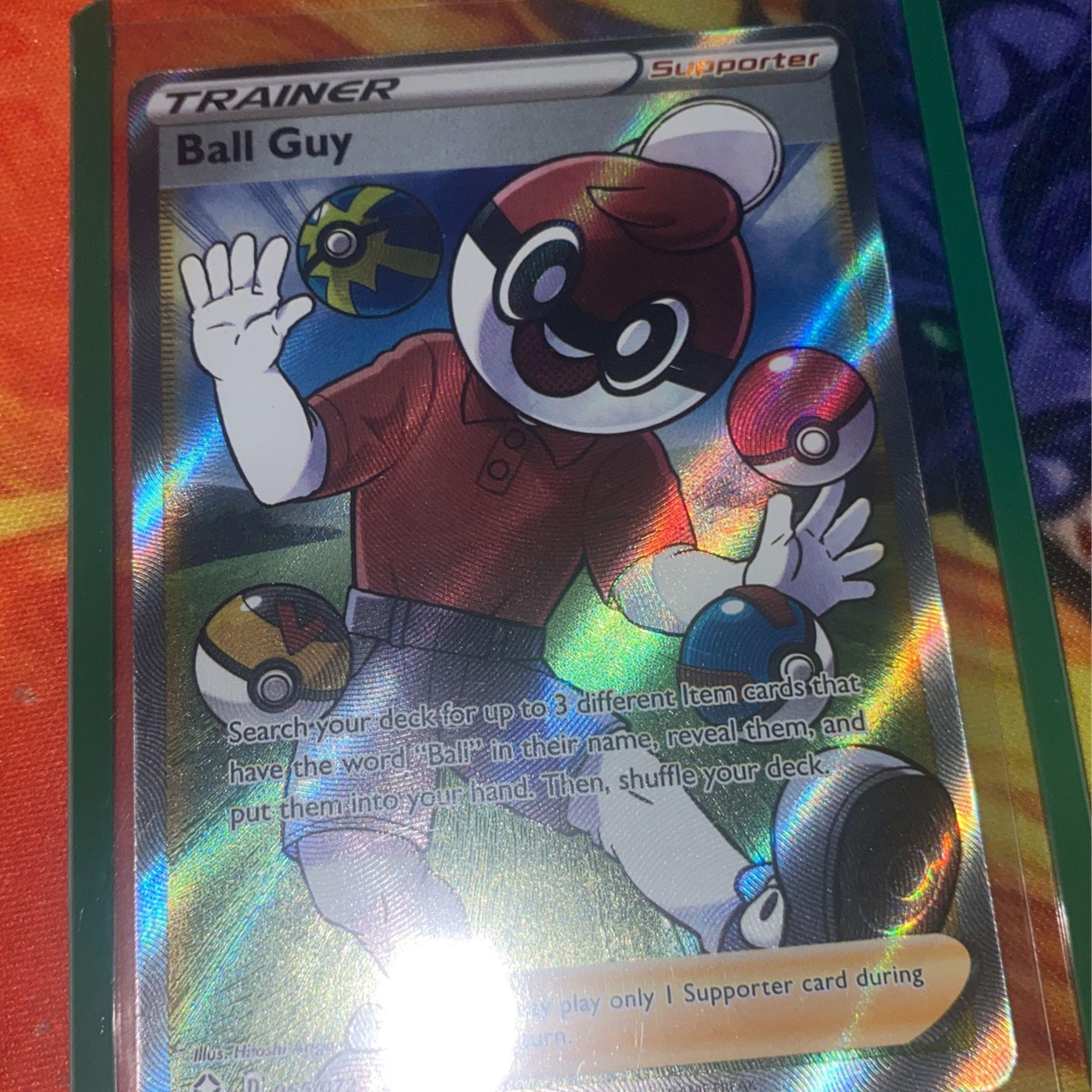 Pokemon Shining Fates Ball Guy Full Art