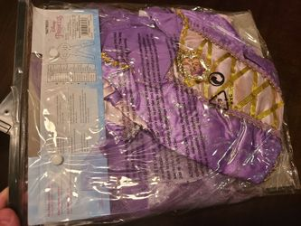 Disney Rapunzel Costume Size 3t To 4t  Thumbnail