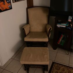 Rocking Chair With Ottoman Thumbnail