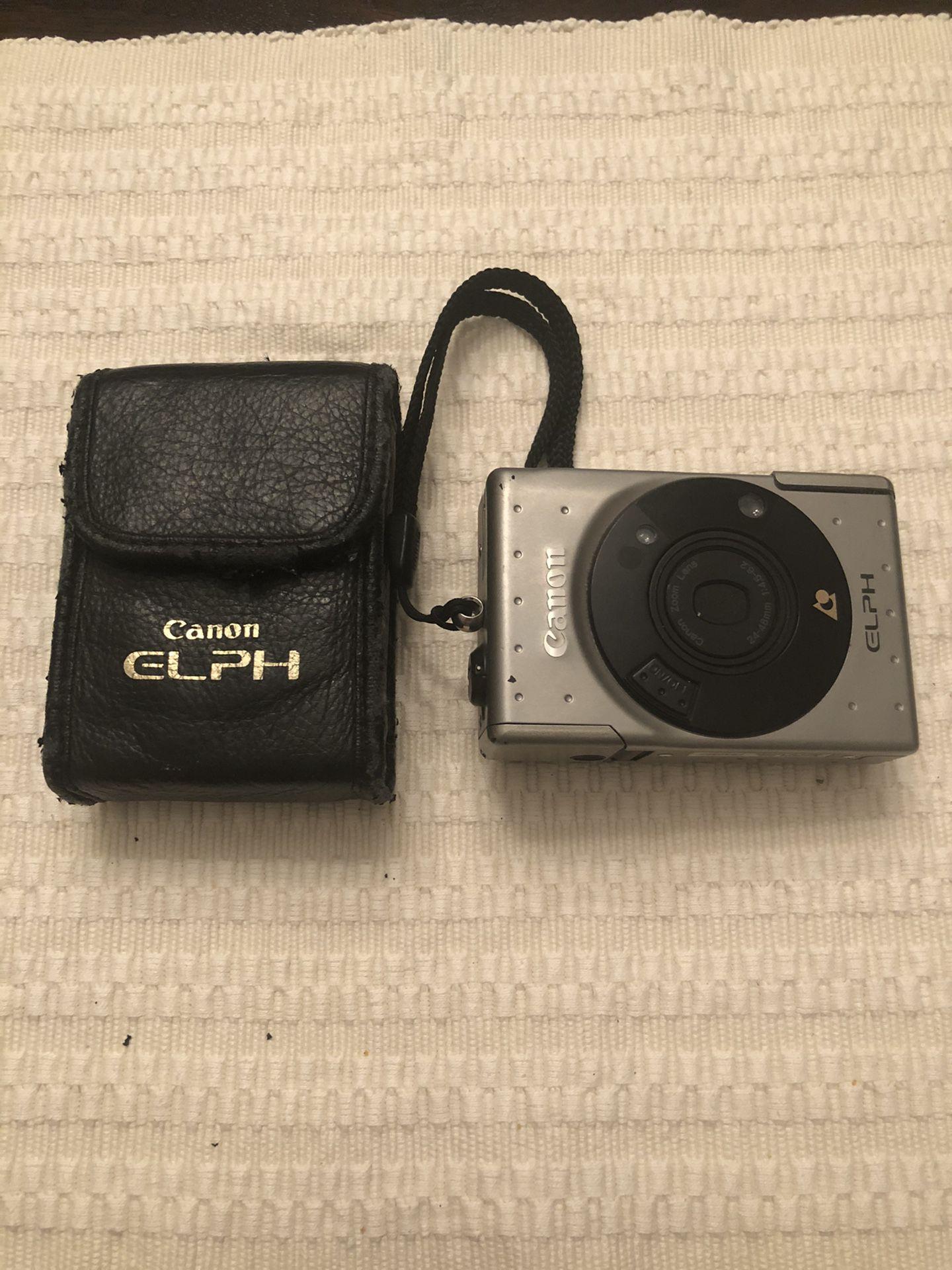 Canon elph camera aps