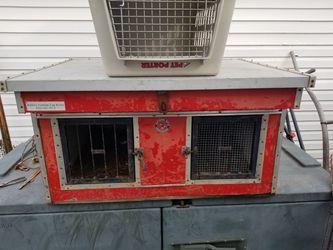 Hunting dog box kennel Thumbnail