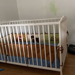 Crib With Mattress  Thumbnail