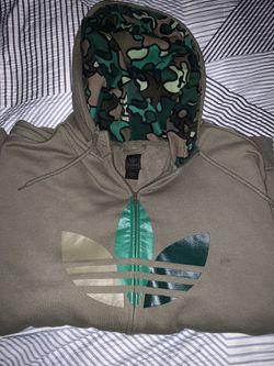 Adidas zip up sweater Thumbnail