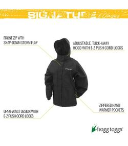 New Women's Frogg Toggs Classic Pro Action Waterproof Breathable Rain Jacket  Thumbnail