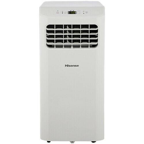 Hisense 8,000 BTU ASHRAE 115-Volt Portable Air Conditioner, Factory Refurbished