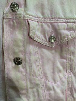 Forever 21 Pink Denim Jacket Thumbnail