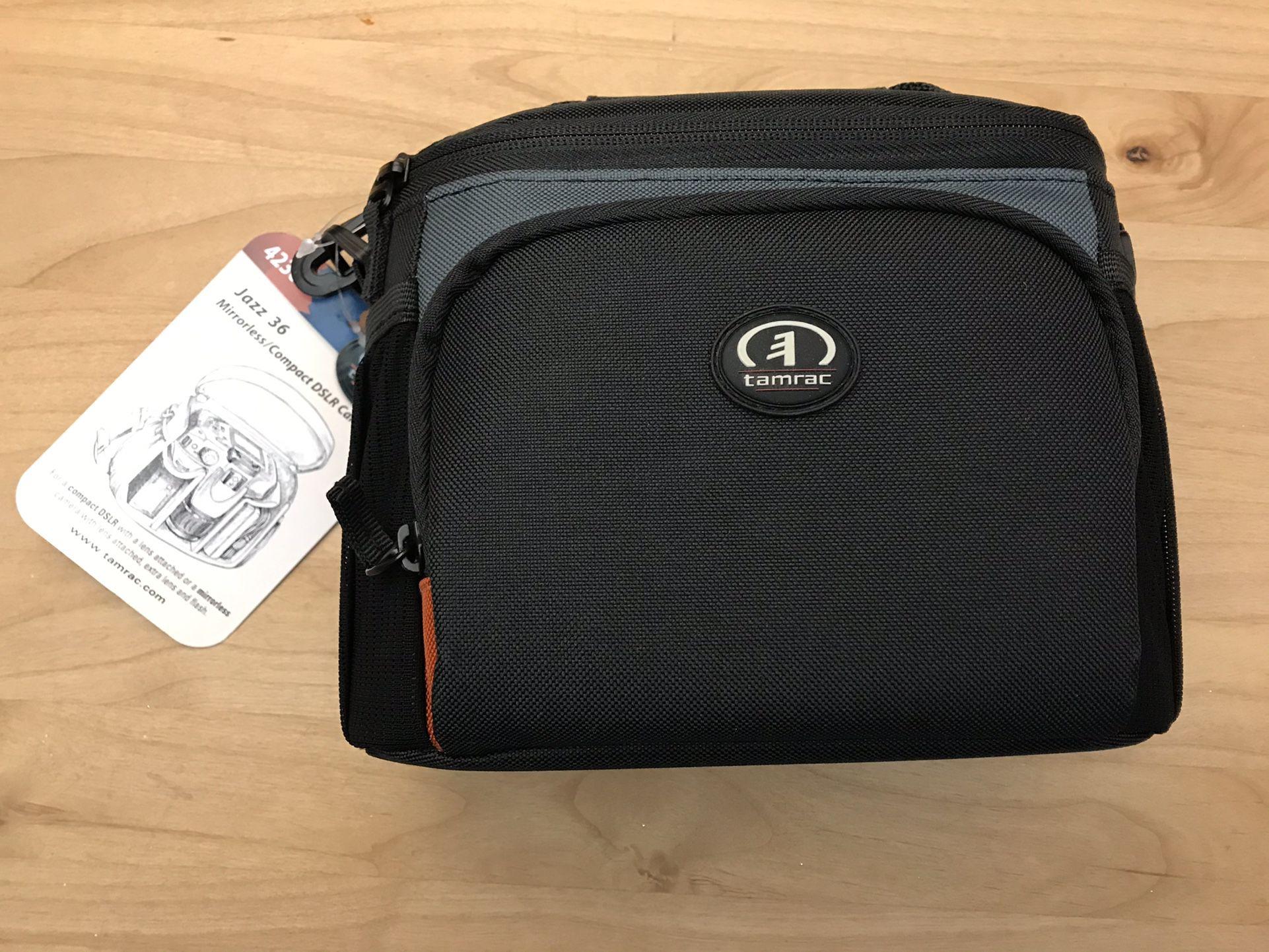 New In Package Tamrac Jazz 36 Mirrorless Compact DSLR Camera Bag