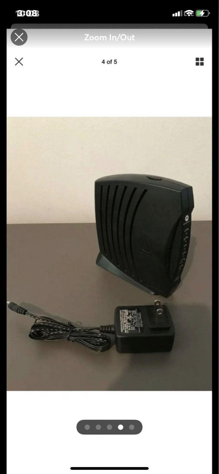 Motorola SURFboard SB5101 Wireless Router Cable Modem