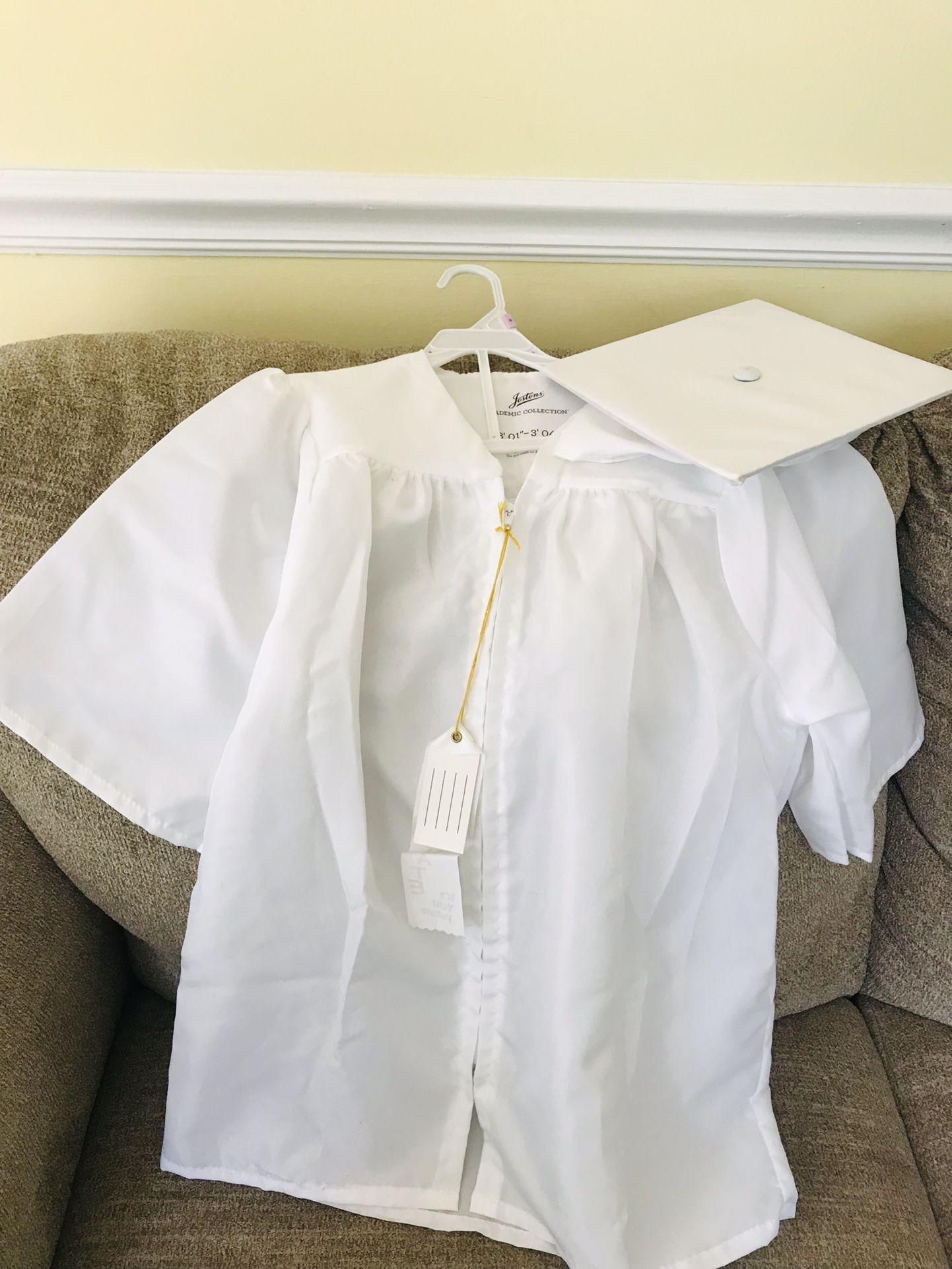 Preschool Graduation Gown And Hat