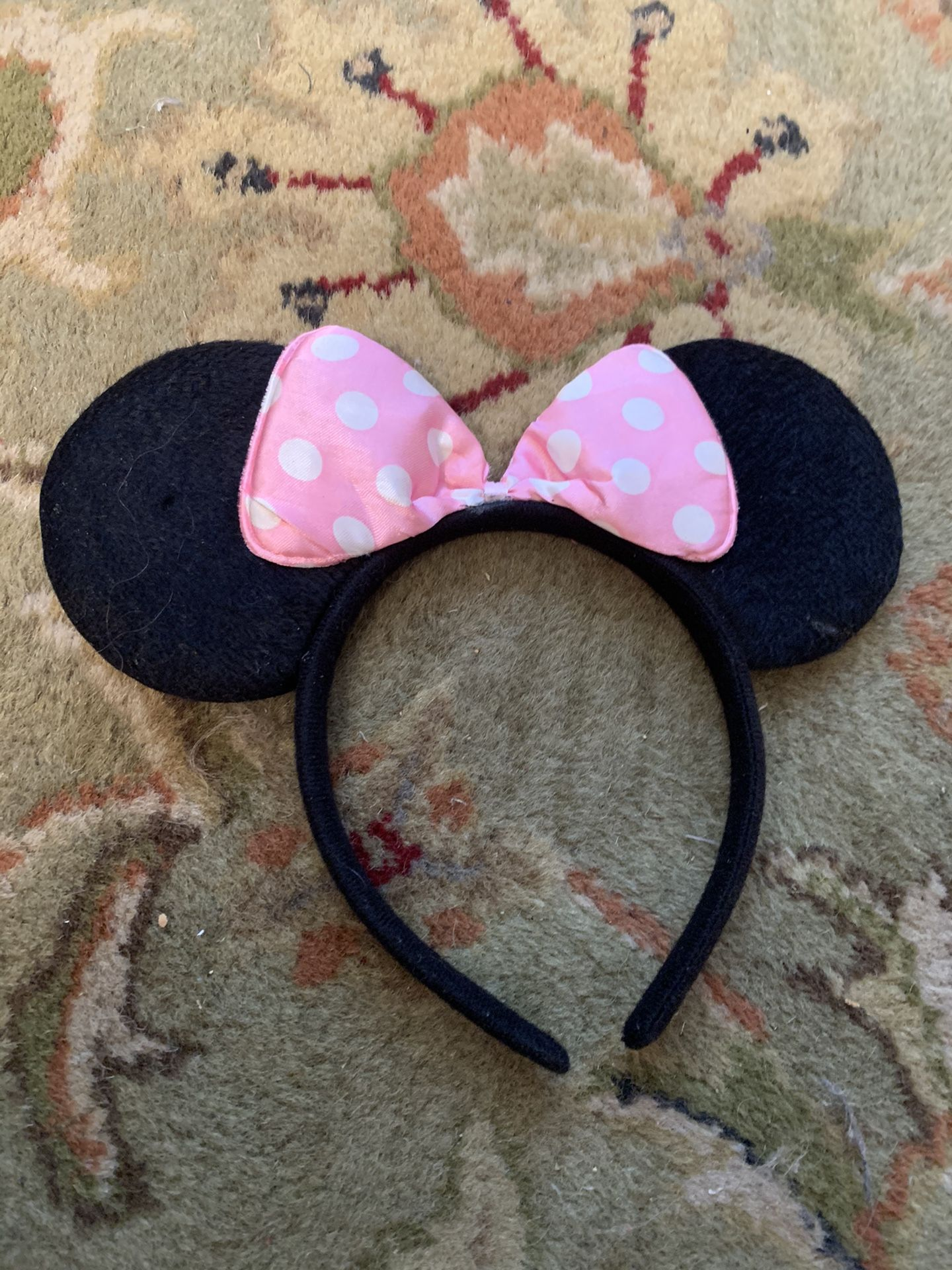Classic child's Minnie Mouse Ears