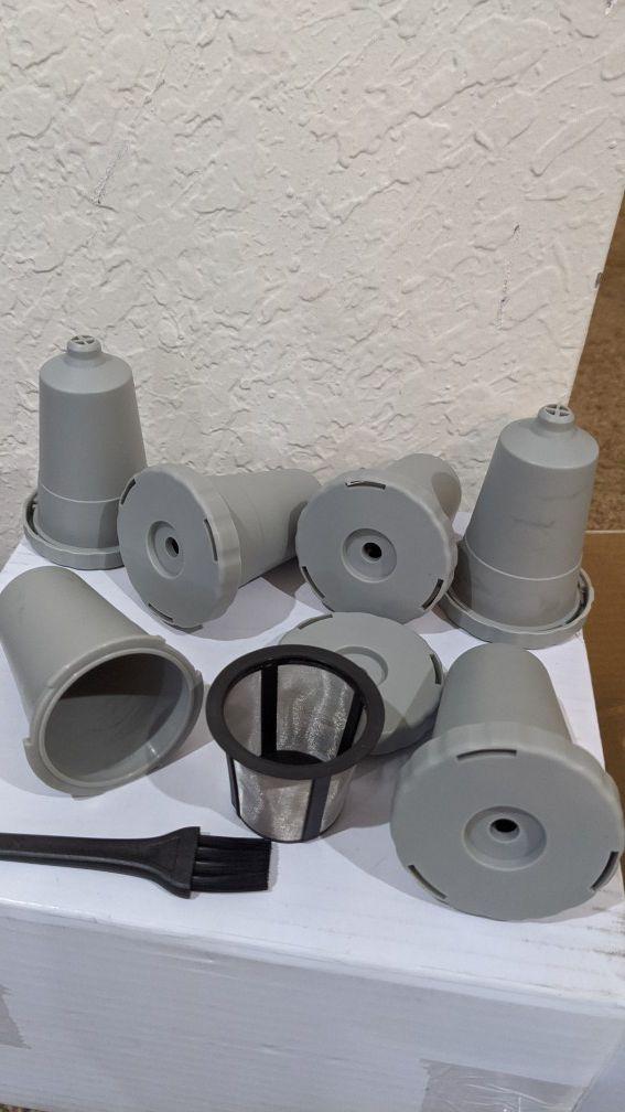 6 pack coffee filters & holders- Keurig