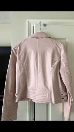 Womans Pink fashion jacket Thumbnail