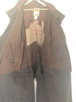 Kakadu Traders Oilskin Drovers Duster Coat XL Thumbnail