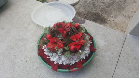 Christmas decor with storage container all for $10 Thumbnail