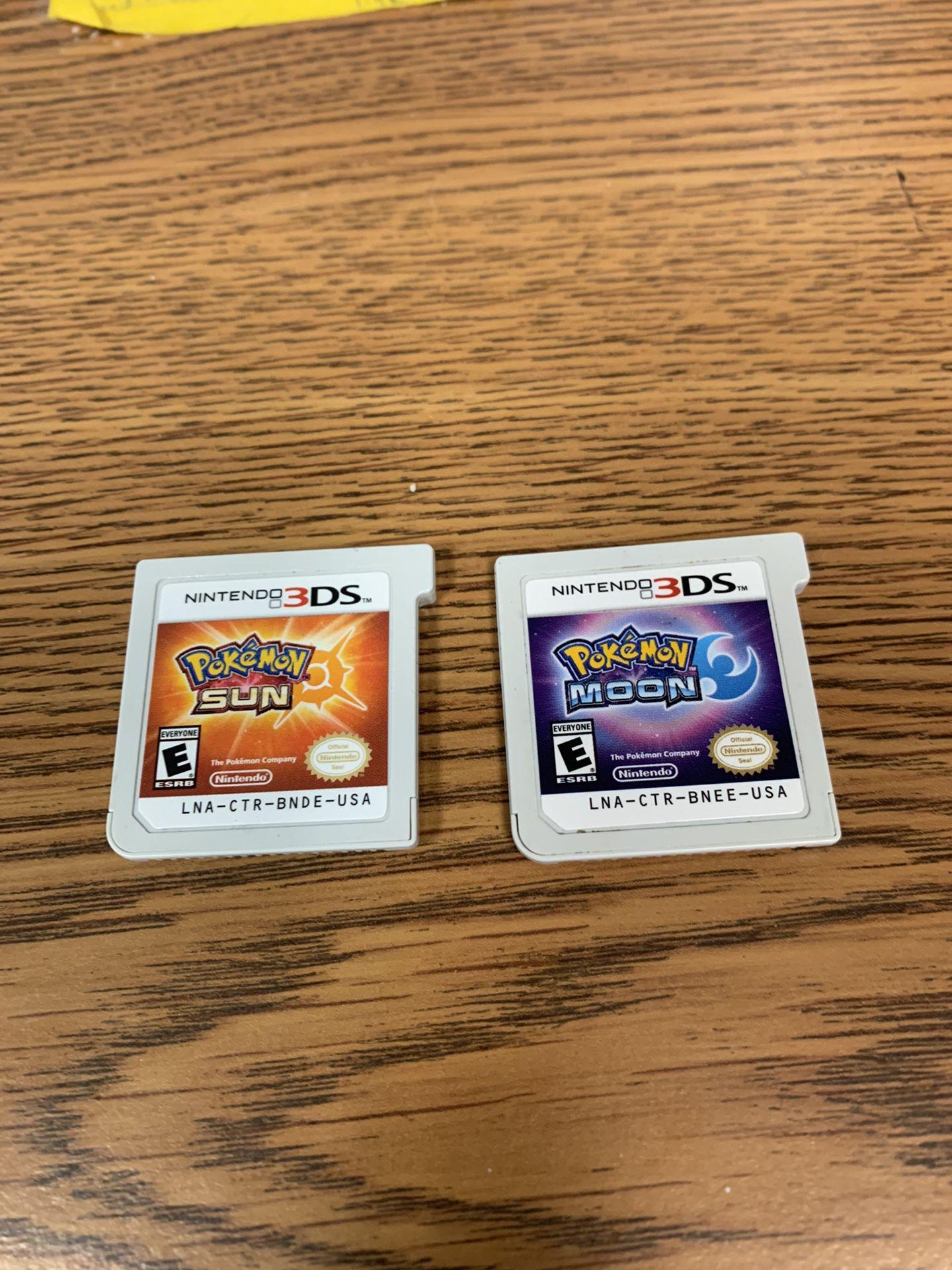 Pokemon Sun & Moon Nintendo 3ds