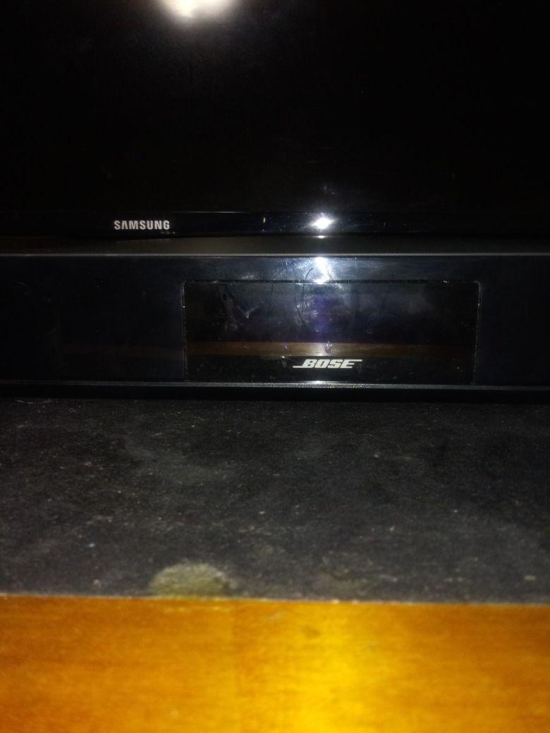 5 piece Bose Surround Sound with Remote Control