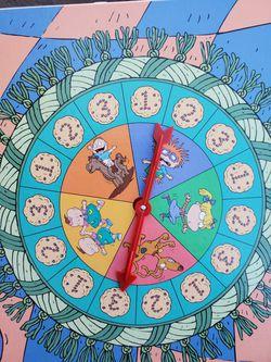 Vintage Rugrats Board Game Lookie Cookies 3D Thumbnail