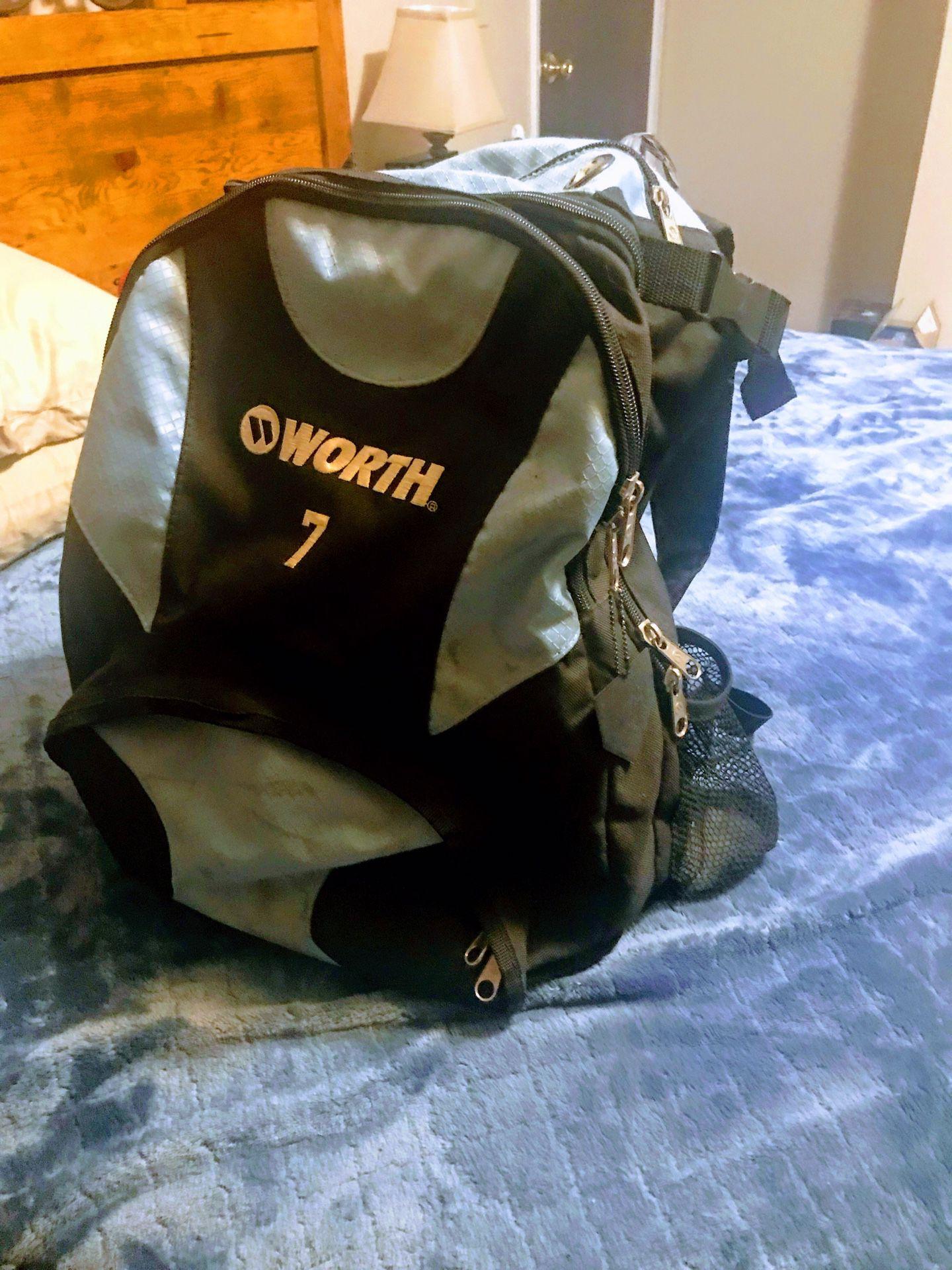 Used Worth Baseball/Softball Backpack