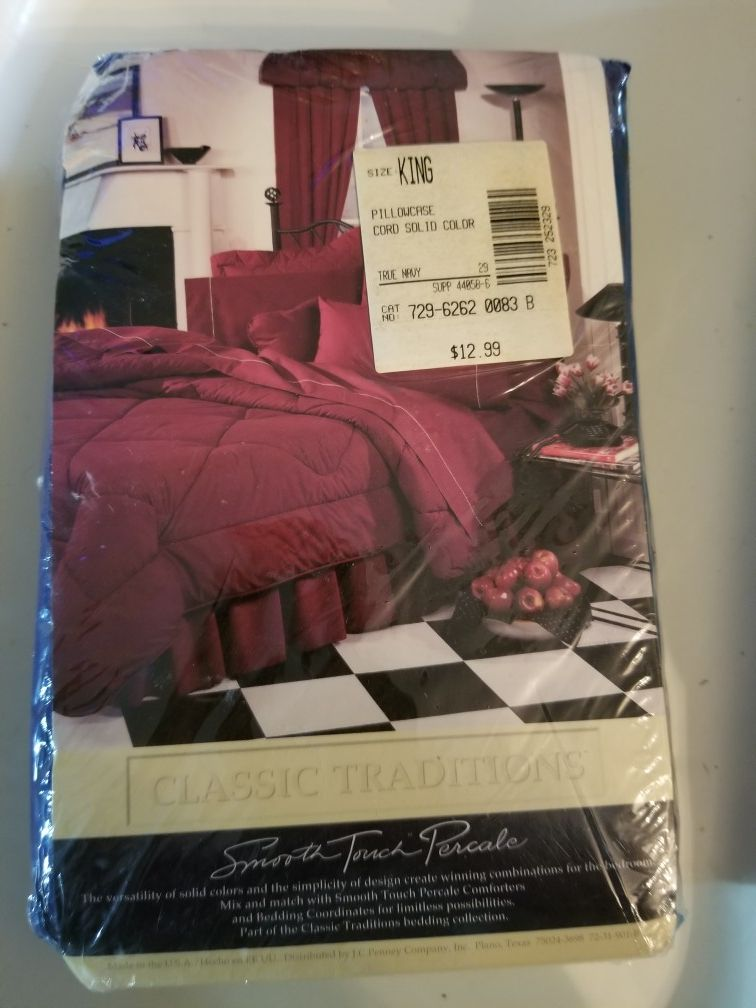 King size pillow cases