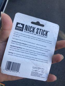 Nick Stick Shaving / Crema Para Rasurarse  Thumbnail