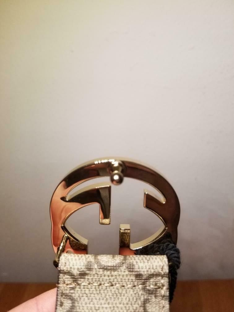 Gucci Supreme Brown Belt