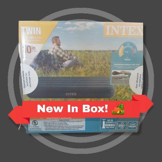 NIB INTEX Dura-Beam Standard TWIN Camping Mattress