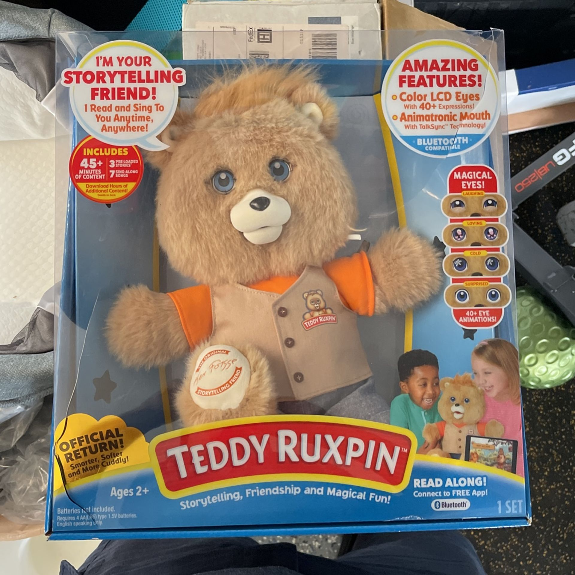 Teddy Ruxpin Read Along