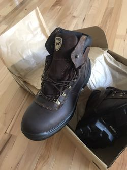 Red Wing Boots(Leather), Irish Setter . Steel Toe Safety Boots !! Size 12 , Brand New in Box !!!! Thumbnail