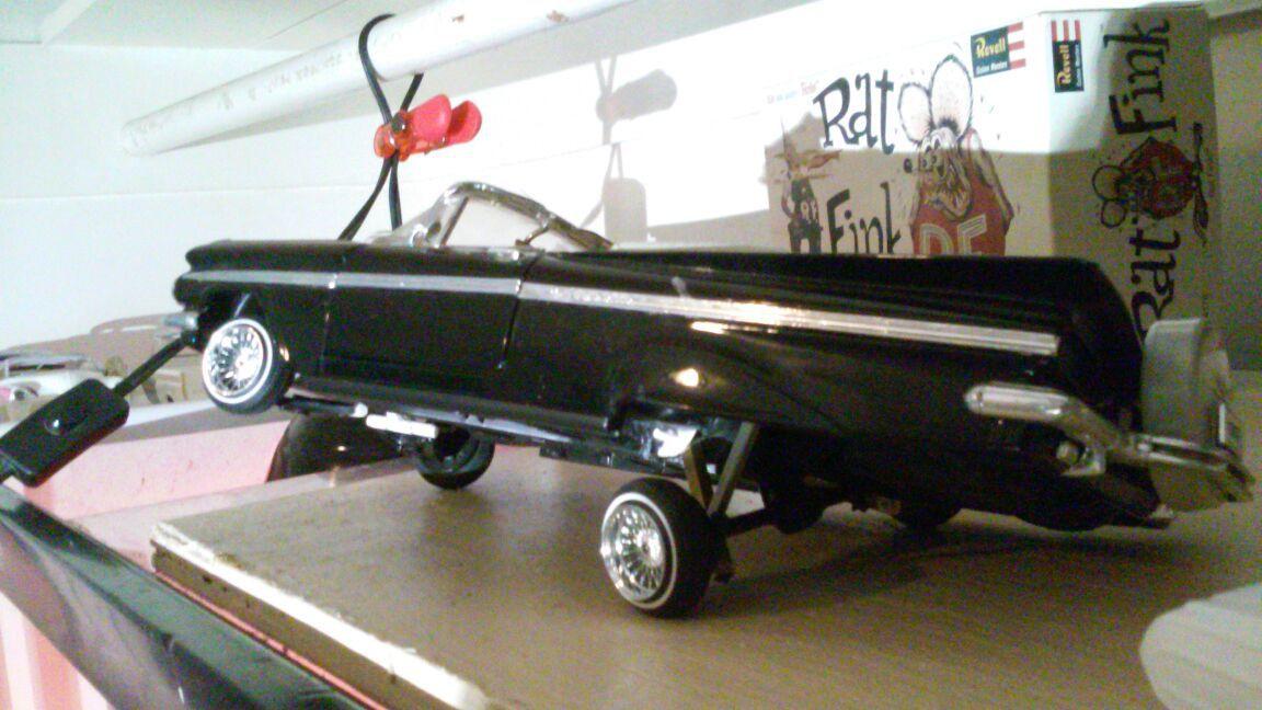 1959 Impala Diecast Lowrider 1/18 Scale