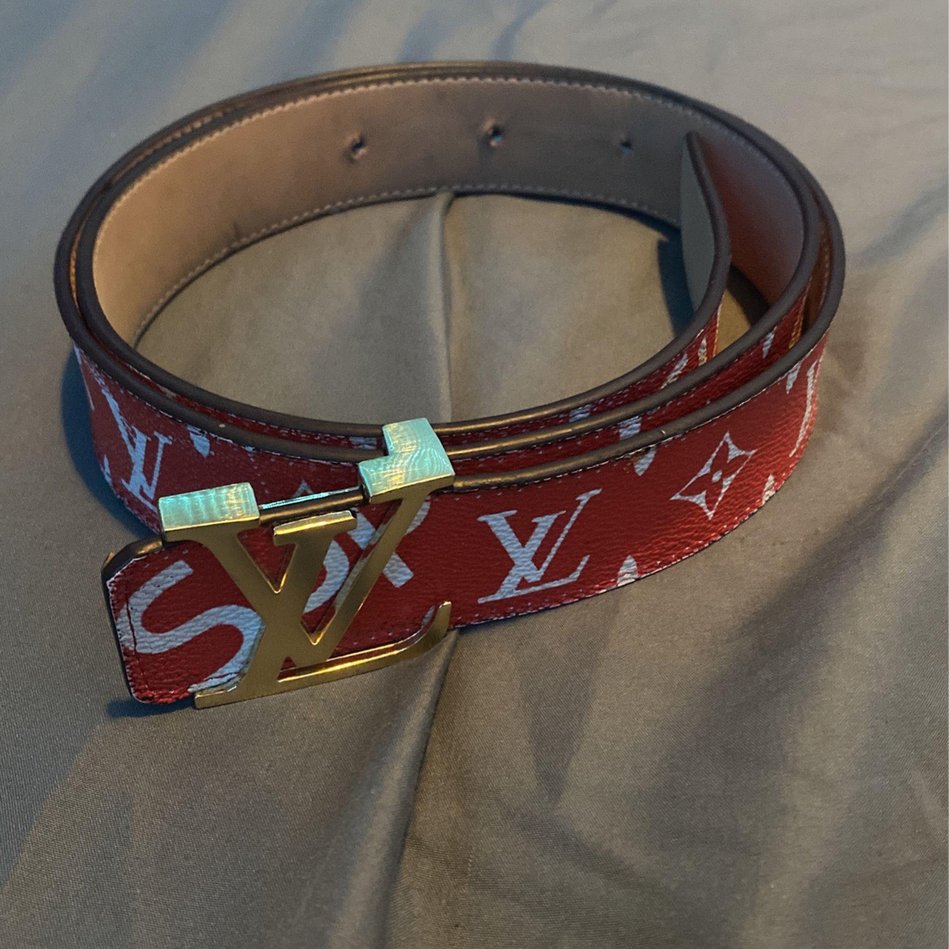 Supreme X Louis Vuitton Belt