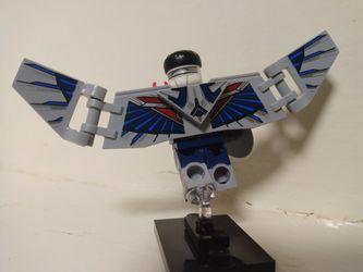 Lego What If Sam Wilson Captain America  Thumbnail