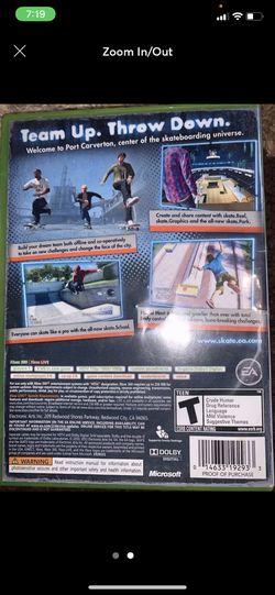 XBox 360 Skate Game Thumbnail