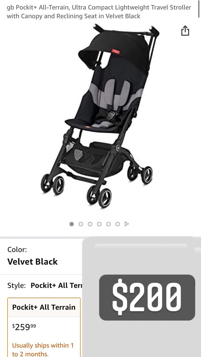 Pocket Air Stroller