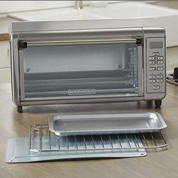 Black+Decker TO3290XSBD Toaster Oven, 8-Slice, Stainless Steel Thumbnail