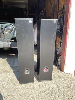 Klipsch Floor Speakers + Pioneer Receiver Thumbnail