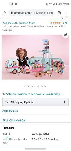 Lol Doll Camper Thumbnail