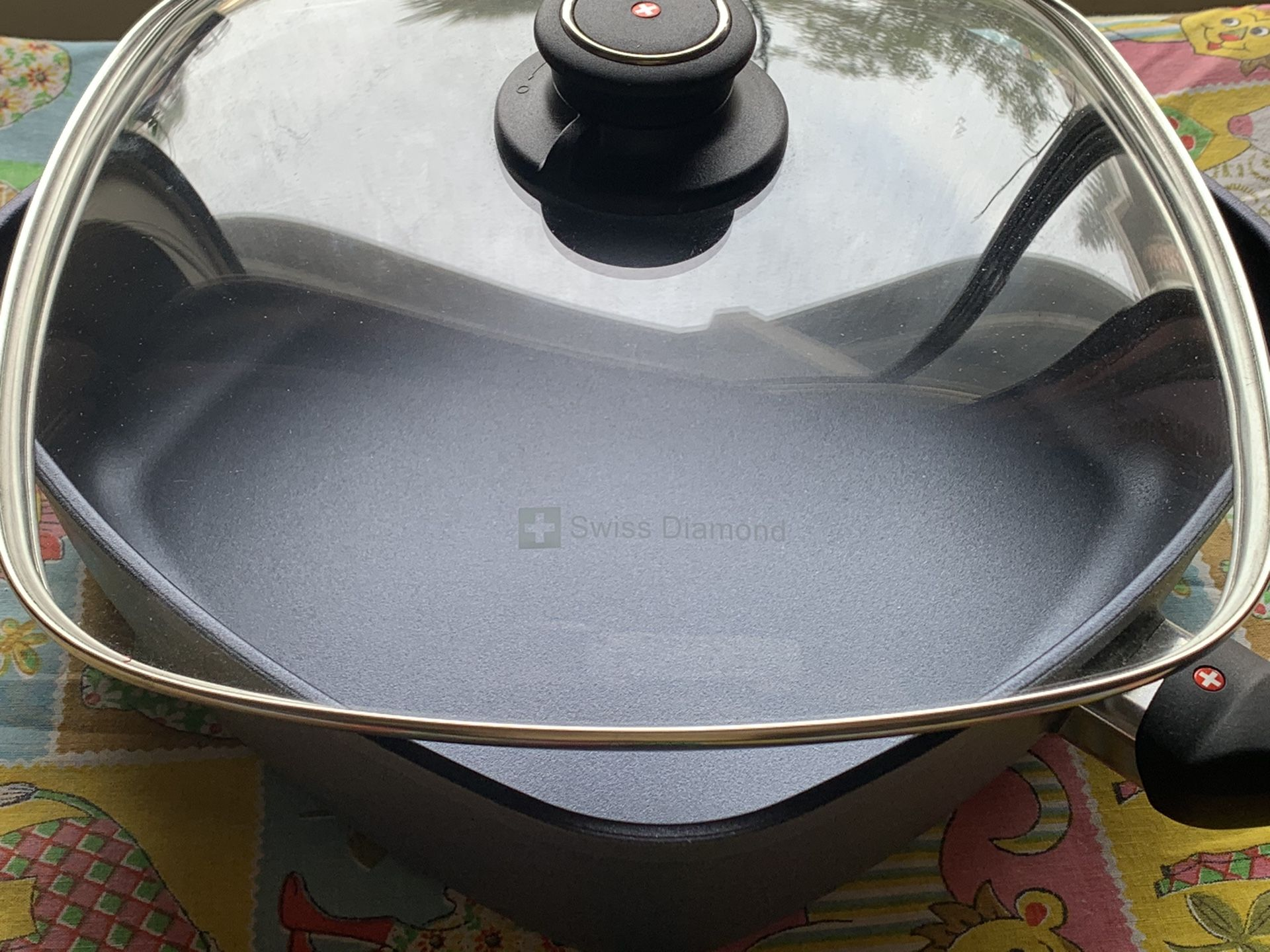 Swiss Diamond 2 1/2 Qt Fry Pan