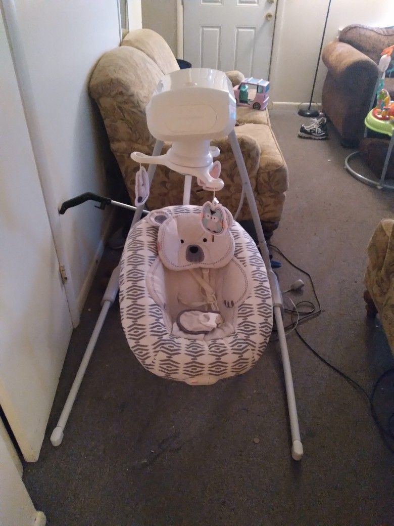 Baby Electric Fisher Price Swing