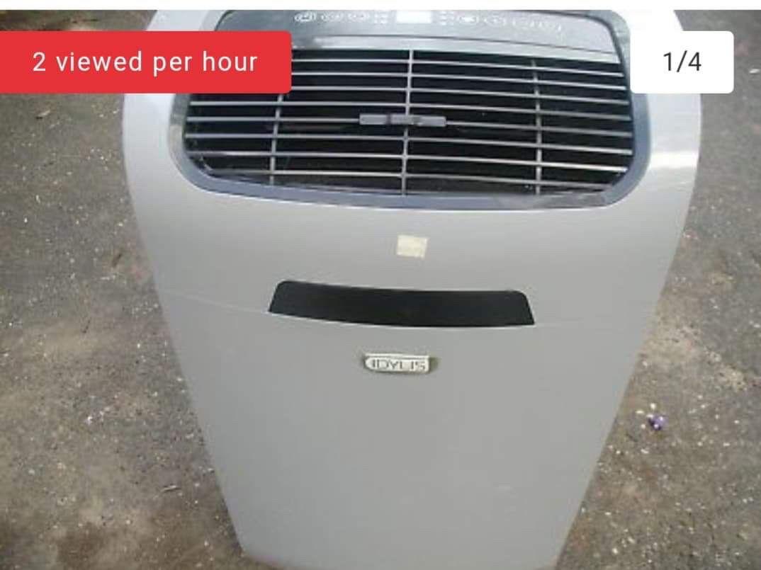 Portable AC unit.
