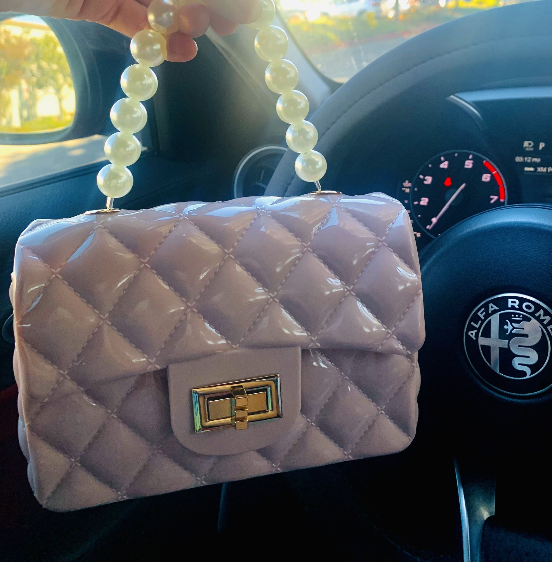 Jelly Bag - Baby Pink