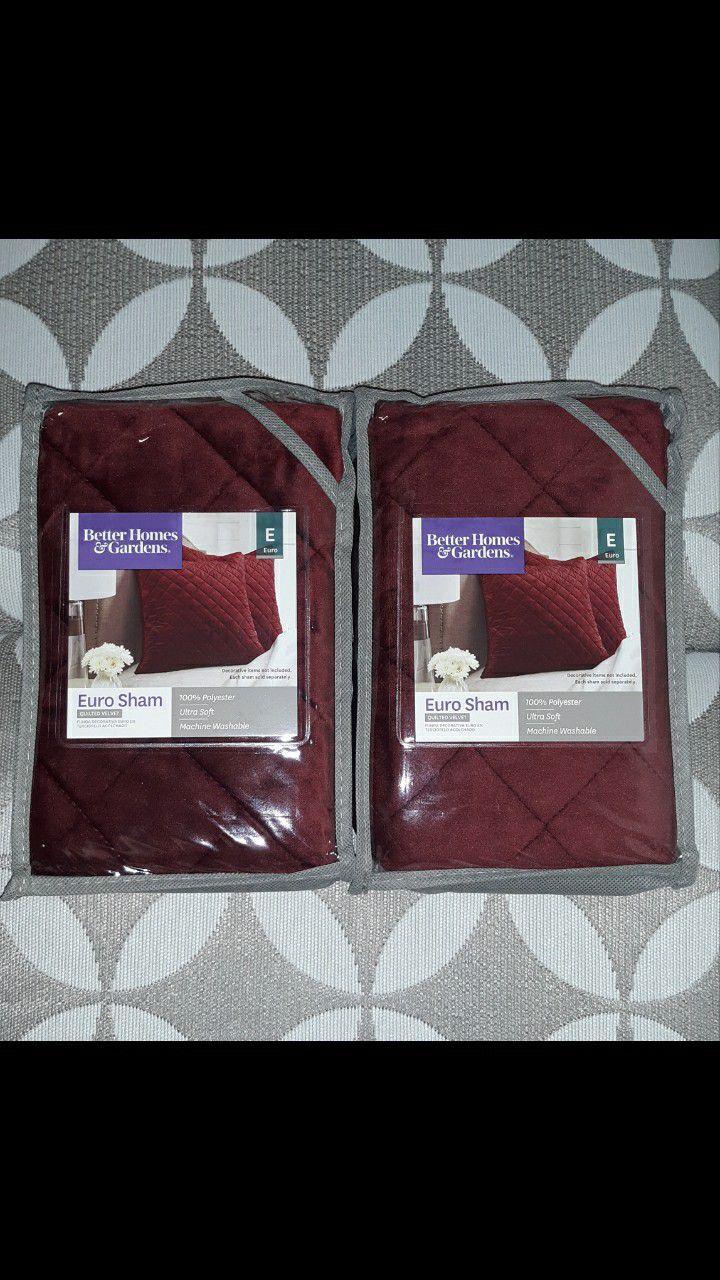 2 Euro Shams European Pillow Cases