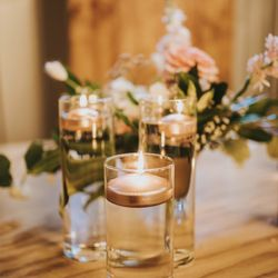 Glass Candle Holder Vases For Event Weddings  Thumbnail